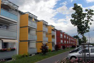 Metall-Auer, Balkonbau